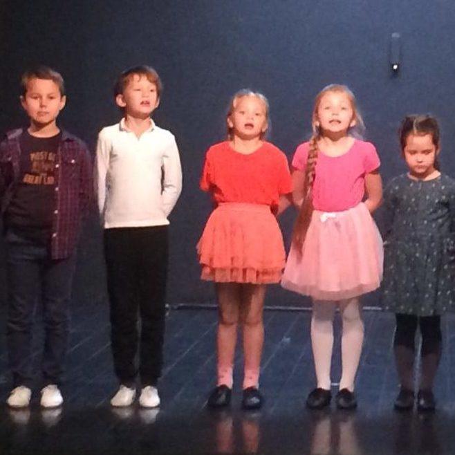 Открытый урок младшей театральной студии 12.12.2018